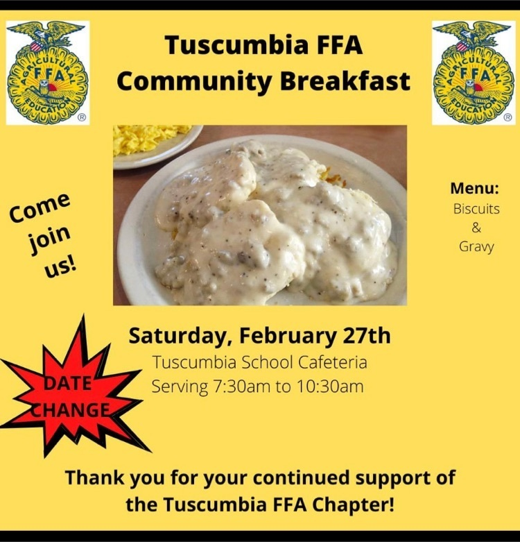 FFA Breakfast info graphic