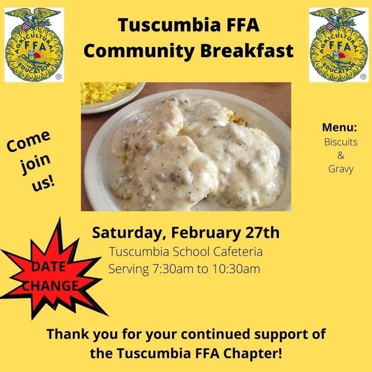 FFA Community Breakfast Infographic