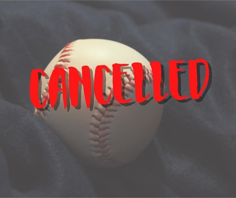 baseball game cancelled